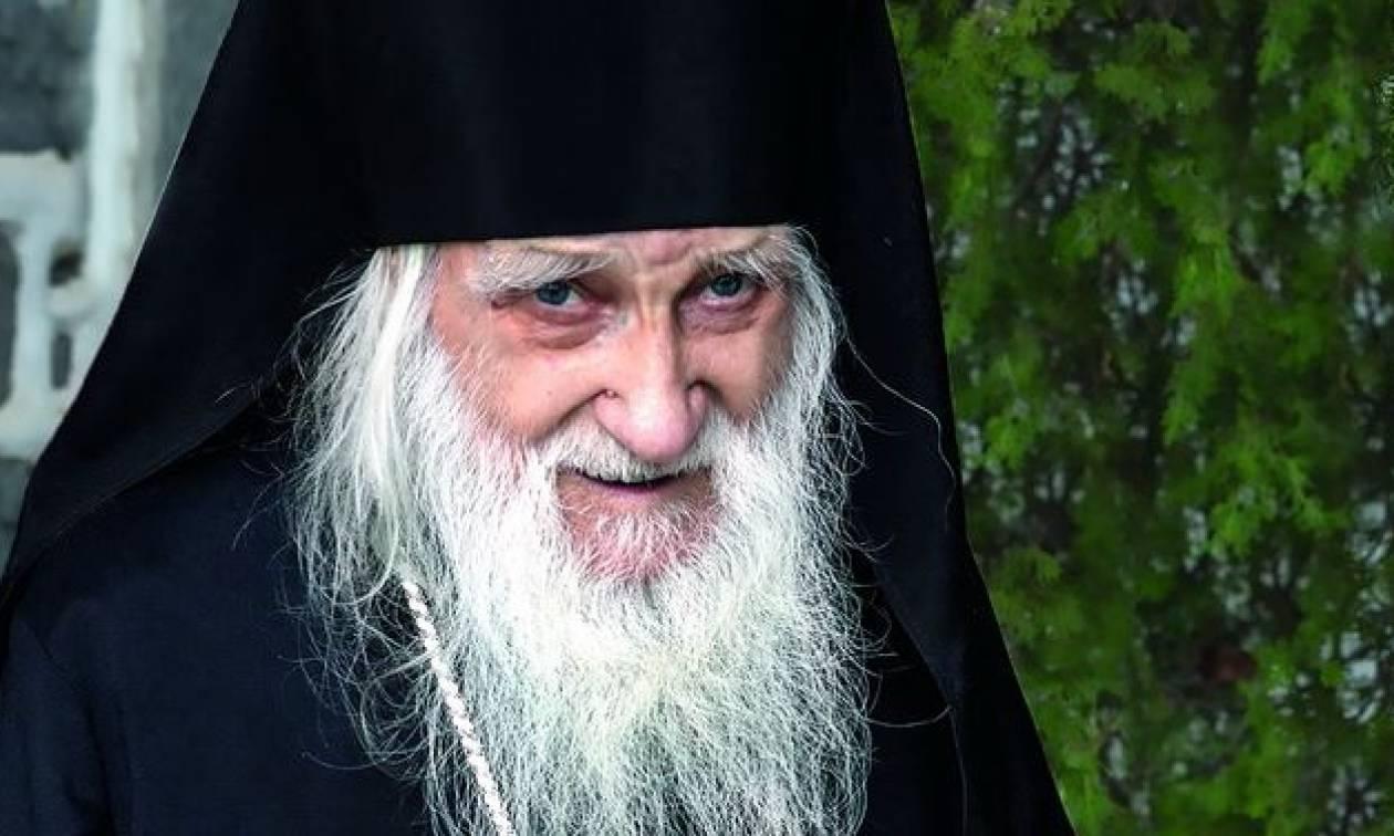 Ιερεμίας: 'Εκλεισε τα 100 χρόνια-Ο μεγαλύτερος ηγούμενος στο Αγ.Ορος