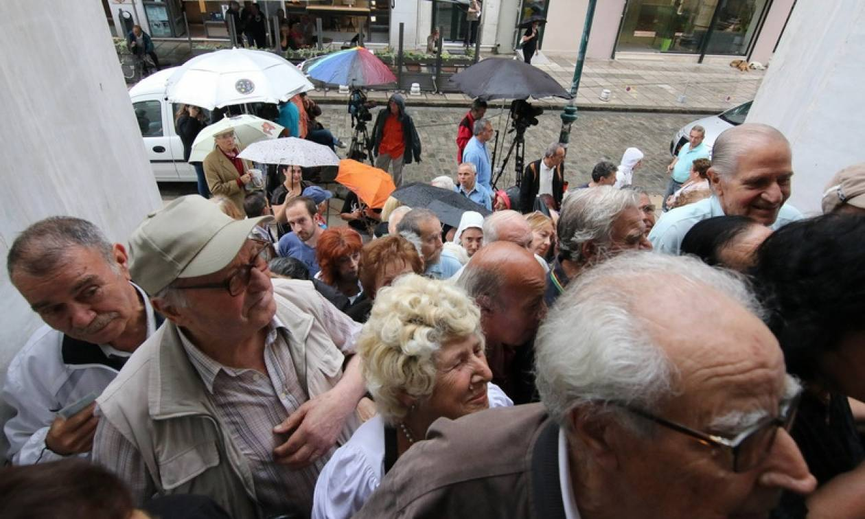 Τέλος στις συντάξεις έφερε ο Σύριζα και ο Τσίπρας με το μνημόνιο που ψήφισε από κοινού με τη ΝΔ - Πασοκ - Ποτάμι και Ανεξάρτητους Έλληνες: Στον Καιάδα τα «τιμημένα γηρατειά»
