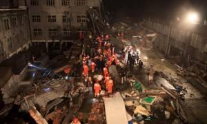 Κίνα: 17 εργάτες νεκροί από την κατάρρευση κτιρίου
