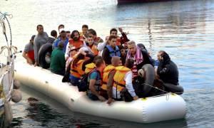 Βίντεο ντοκουμέντο: Δραματική διάσωση μεταναστών στη Λέσβο