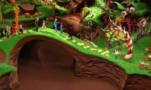 Ο Καραμέρος και το... εργοστάσιο σοκολάτας!