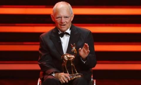 Γερμανία: Με το βραβείο Bambi τιμήθηκε ο Βόλφγκανγκ Σόιμπλε