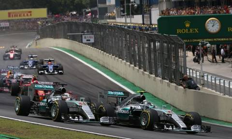 F1 Grand Prix Βραζιλία: Ο Rosberg νικητής