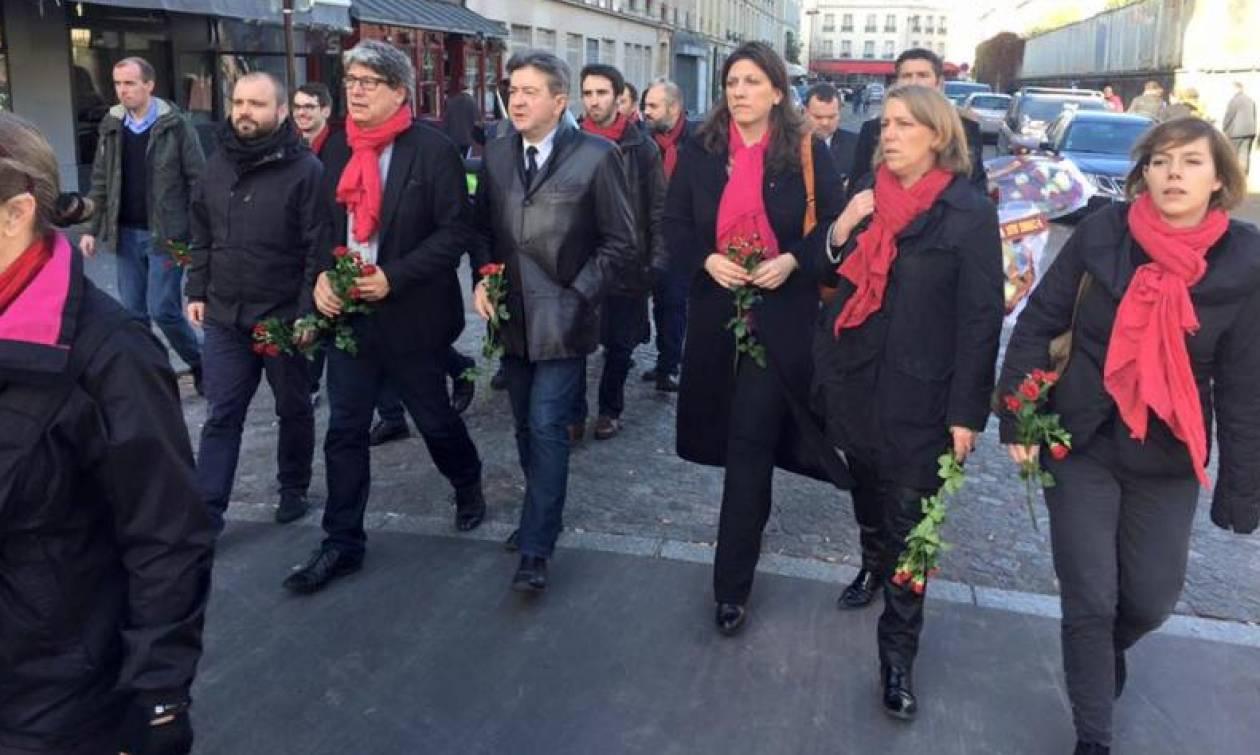 Επίθεση Γαλλία: Στο Παρίσι η Ζωή Κωνσταντοπούλου (photos)