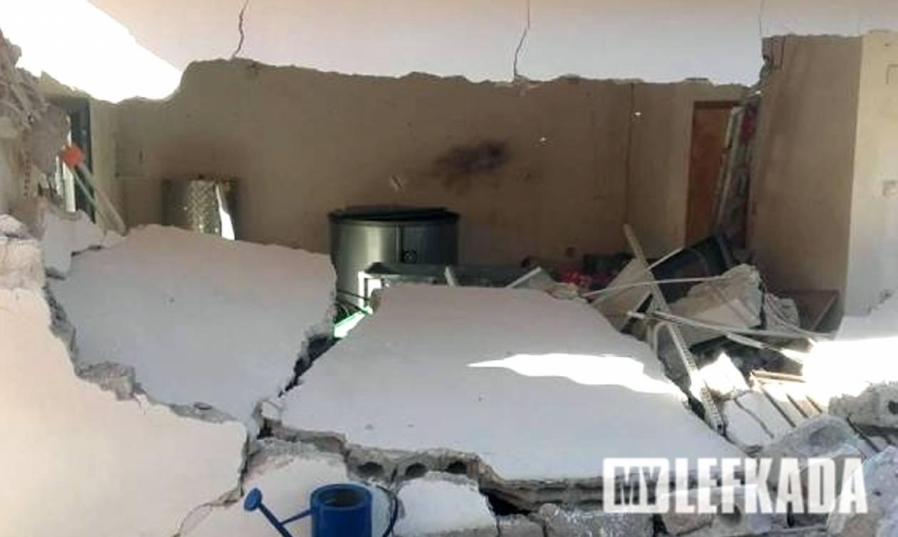 Σεισμός: Σοβαρότατες ζημιές και στην Ιθάκη - «Κομμένο» στα δύο το νησί λόγω των κατολισθήσεων
