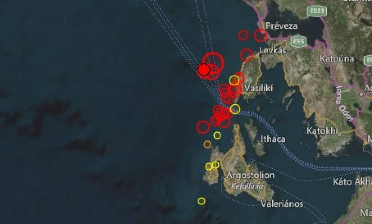 Σεισμός Λευκάδα: Συνεχίζεται ο τρόμος στο νησί - Νέος μετασεισμός 4,6 βαθμών