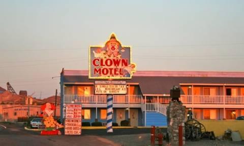Αν σας τρομάζουν οι κλόουν αυτό είναι το ξενοδοχείο εφιάλτης (photos)