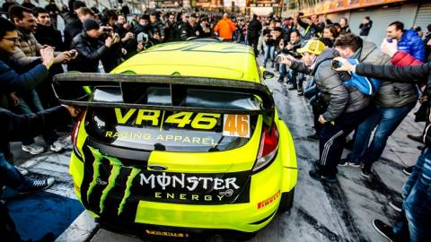 Monza Rally Show:  O Rossi νικητής