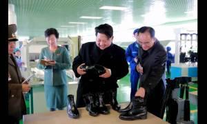 Στη Β. Κορέα θα μάθεις πως να γυαλίζεις τα παπούτσια σου