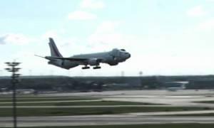 Η απίστευτη προσγείωση αεροπλάνου που έχει τρελάνει το διαδίκτυο! (video)