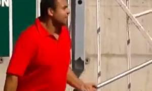 Απίστευτες κονταρομαχίες οπαδών στη Χιλή (video)