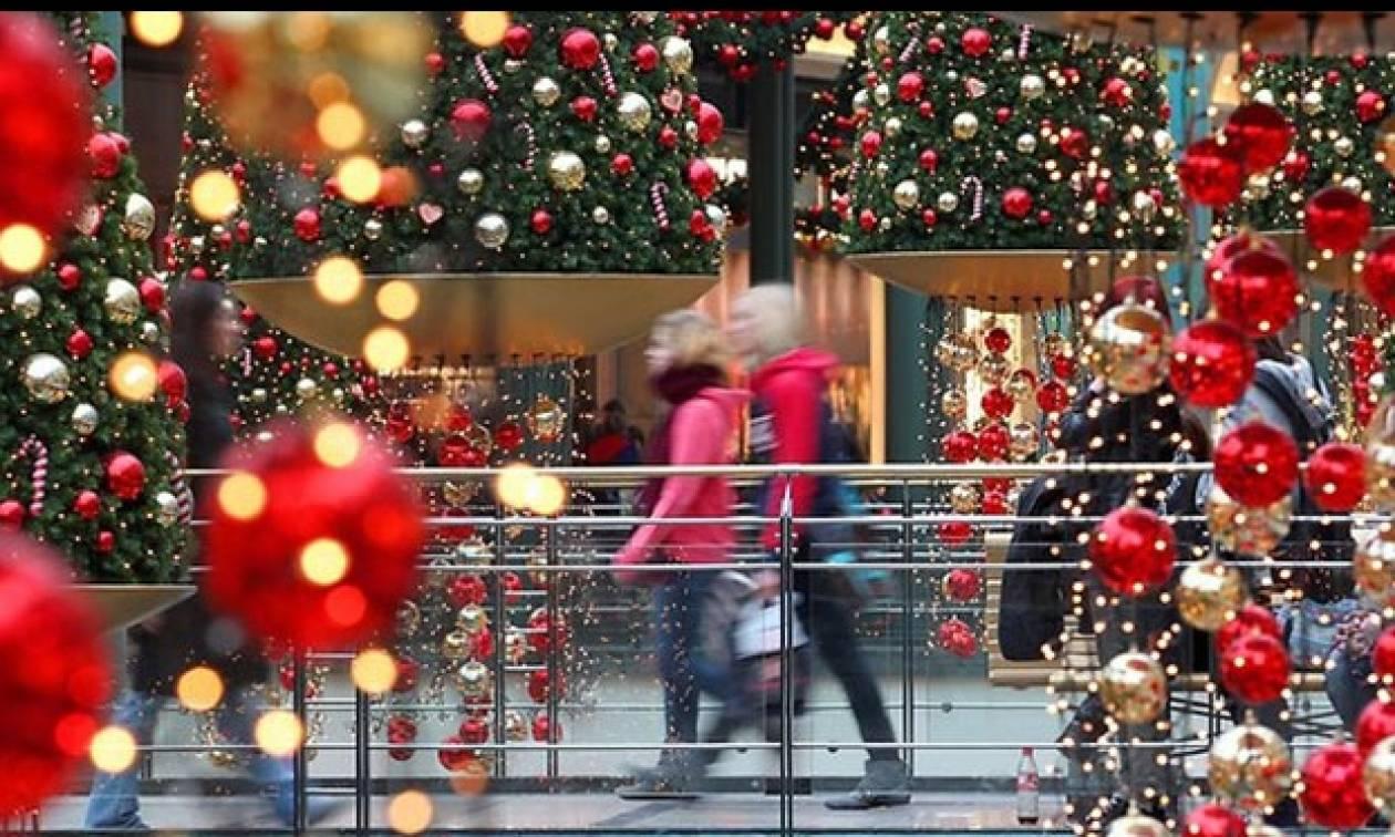 Εορταστικό ωράριο Χριστουγέννων 2015: Πότε ξεκινάει  - Πώς θα λειτουργήσουν τα καταστήματα