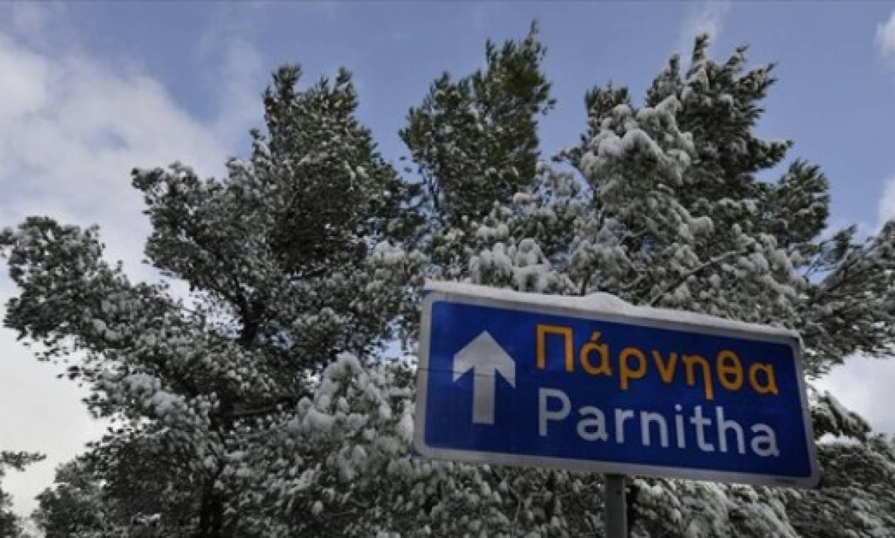 Χιόνια το Σαββατοκύριακο στην Αττική - Ποιες περιοχές θα «ντυθούν» στα λευκά