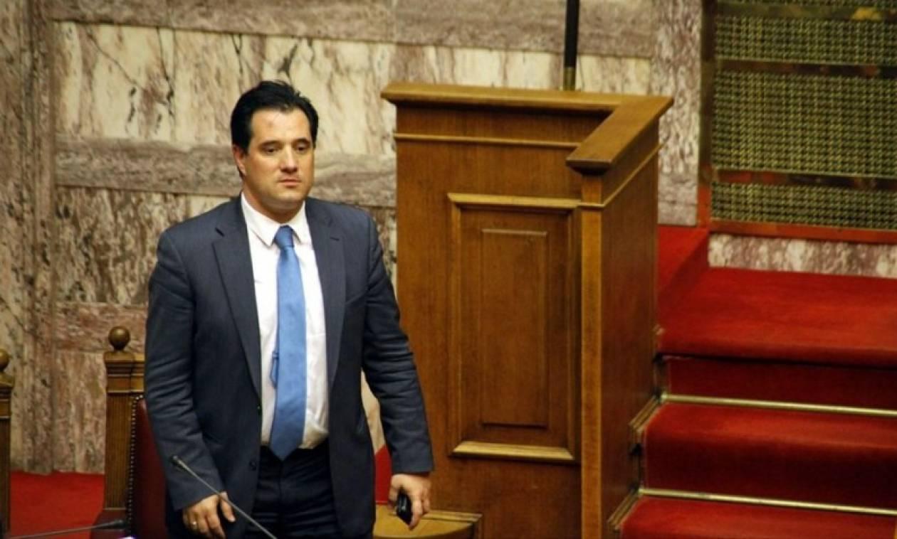 Άδωνις Γεωργιάδης: Ο Τσίπρας παραδίδει στα ξένα funds τις ελληνικές επιχειρήσεις