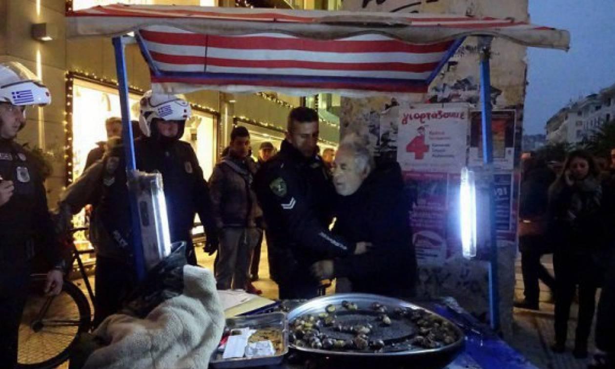 Συγχαρητήρια στην κυβέρνηση! Kαταδικάστηκε ο καστανάς της Θεσσαλονίκης