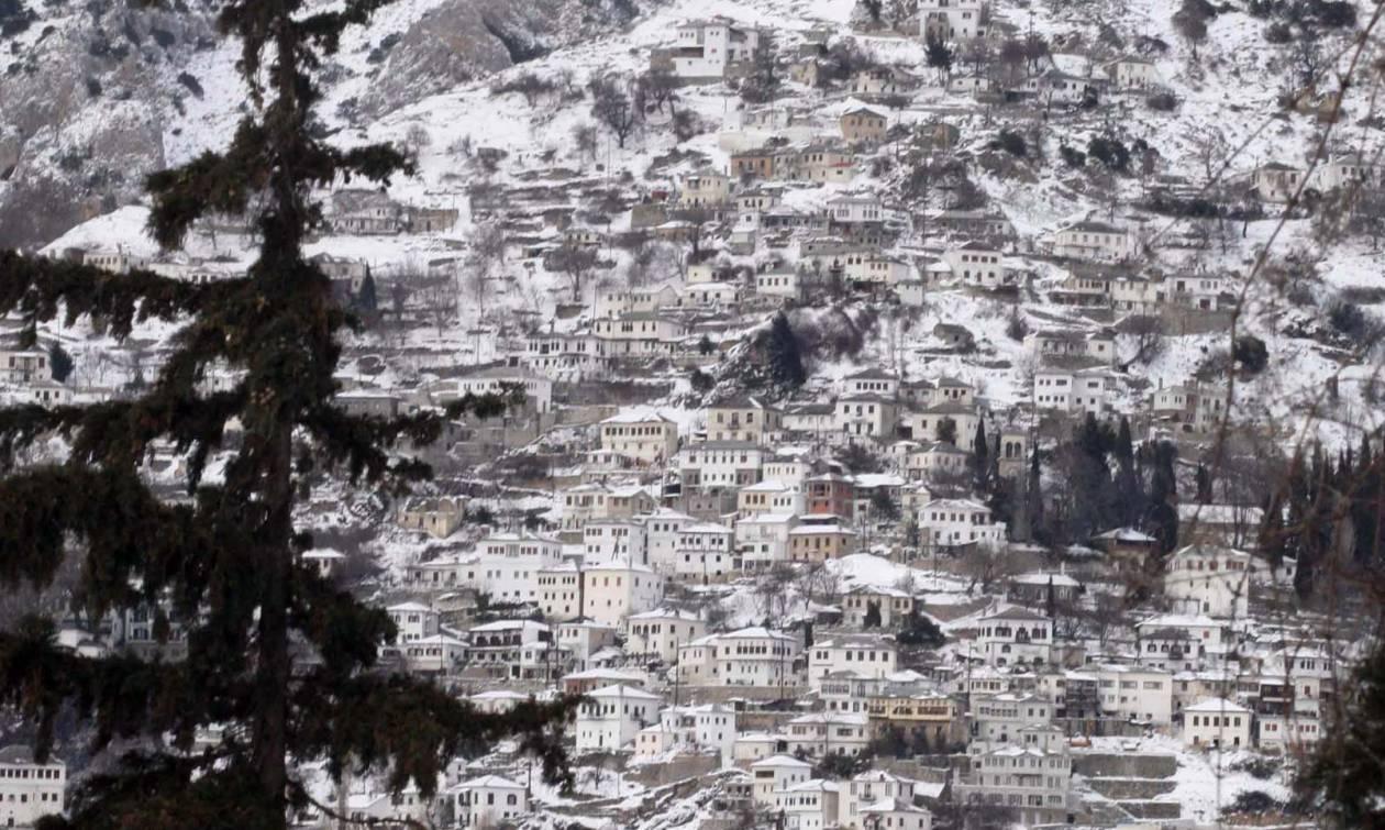 Αποτέλεσμα εικόνας για πηλιο χιονια