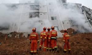 Από παραβιάσεις των κανόνων ασφαλείας προκλήθηκε η κατολίσθηση στην Κίνα