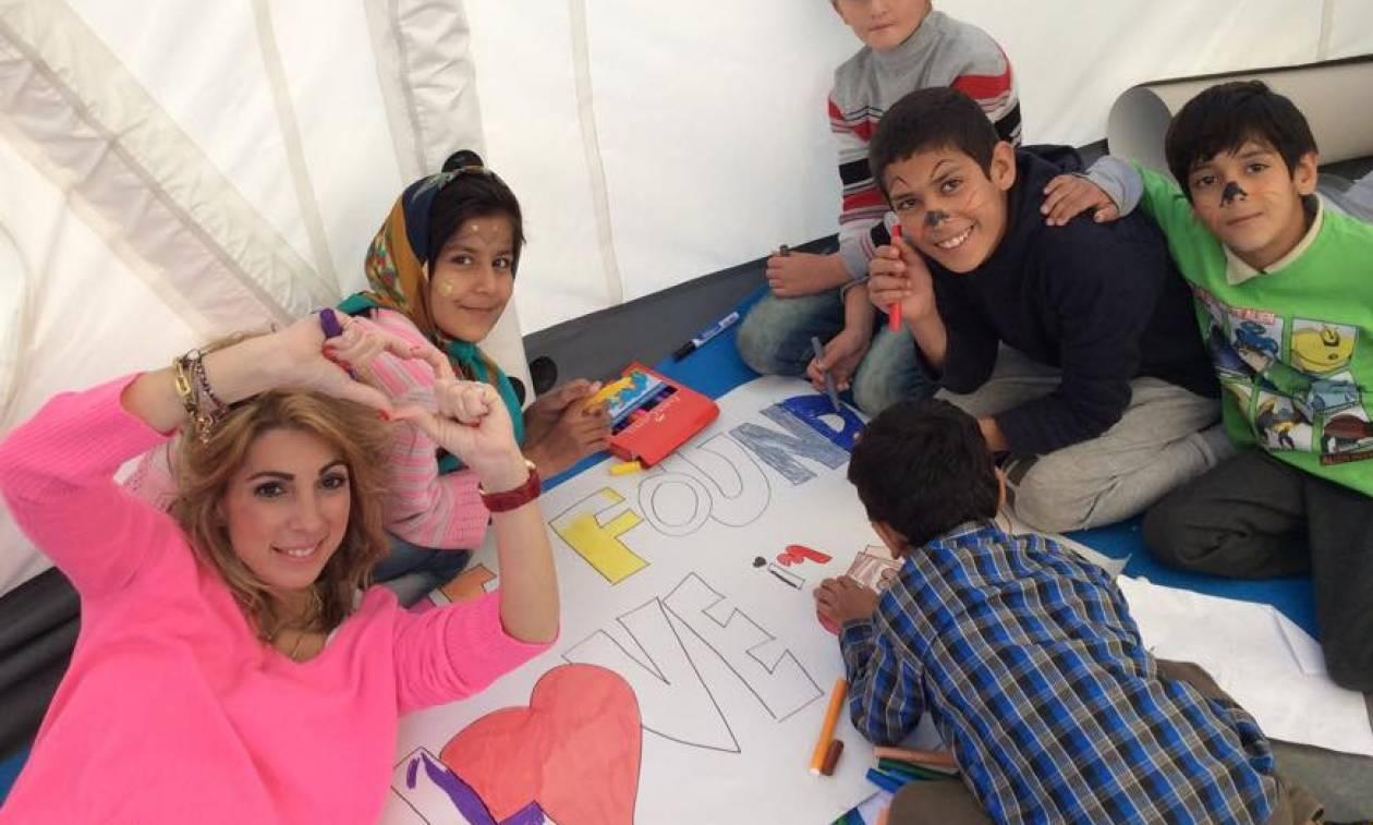 Σάμος: Η υποψήφια για το «Νόμπελ Εκπαιδευτικού» συμμετείχε σε εκδήλωση για τα προσφυγόπουλα