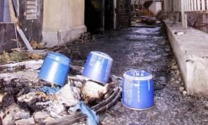 Γκαζάκια στην είσοδο κτιρίου στον Πειραιά τοποθέτησαν άγνωστοι