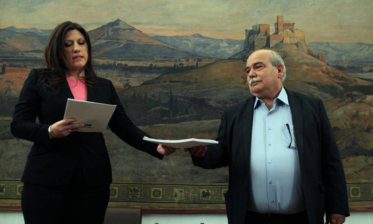 Επίθεση Κωνσταντοπούλου εναντίον Παυλόπουλου και Βούτση