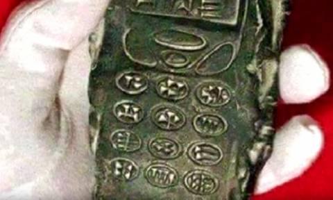 Ανακάλυψαν κινητό τηλέφωνο 800 ετών; (video+photos)