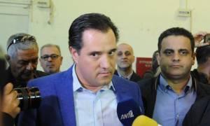 Εκλογές ΝΔ: Ο Άδωνις Γεωργιάδης, ο Κυριάκος και το μελομακάρονο του Τσίπρα