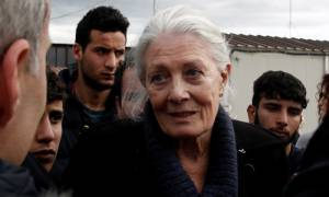 Βανέσα Ρέντγκρεϊβ: Μάθηματα ανθρωπιάς από την Ελλάδα με τους πρόσφυγες (photo)