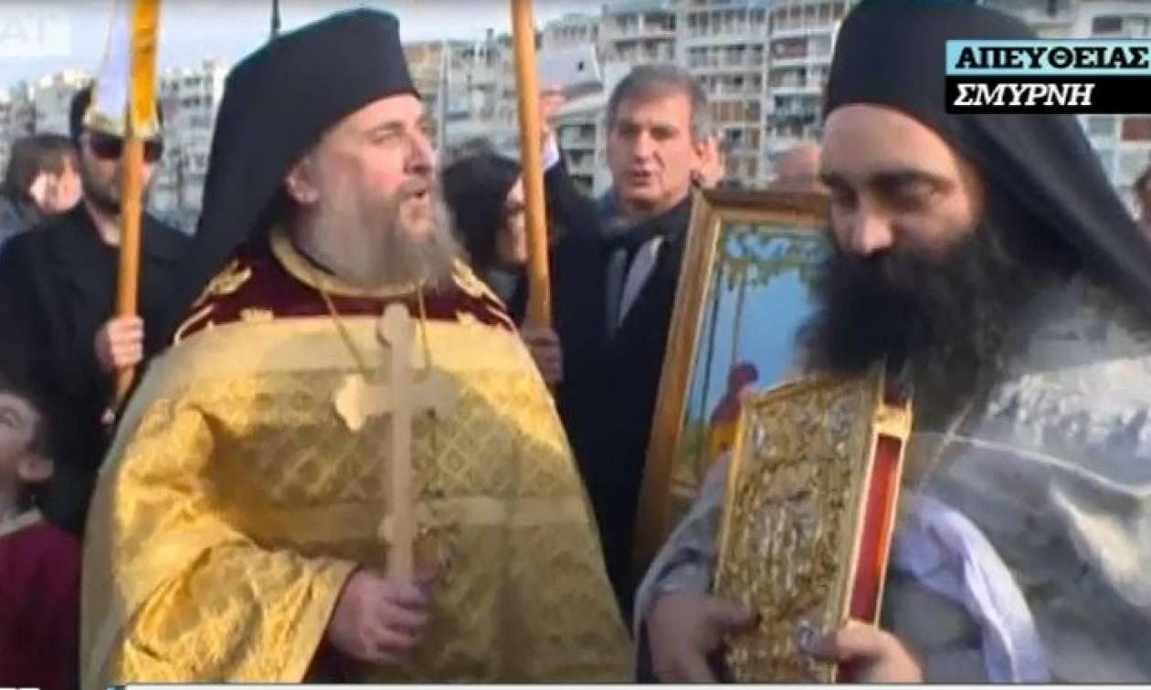 Ρίγη συγκίνησης: H Σμύρνη γιόρτασε τα Θεοφάνεια μετά από 94 χρόνια (video)