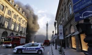 Μεγάλη φωτιά στο ξενοδοχείο Ritz στο Παρίσι!