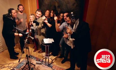 H παρέα του Sfera τραγουδάει!