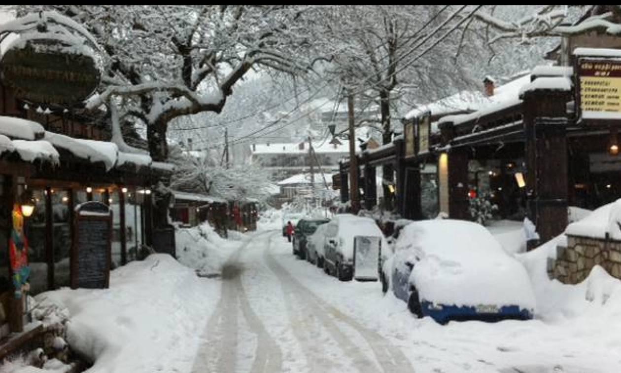 Αποτέλεσμα εικόνας για Νέος χιονιάς