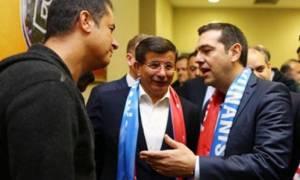 Η συνάντηση του Τσίπρα με τον Τούρκο καναλάρχη (photo)