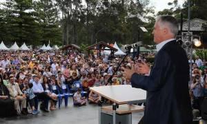 Ο πρωθυπουργός της Αυστραλίας στο Ελληνικό Φεστιβάλ της Μελβούρνης