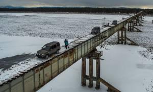 Γέφυρα για... τολμηρούς στην Ρωσία! (pics)