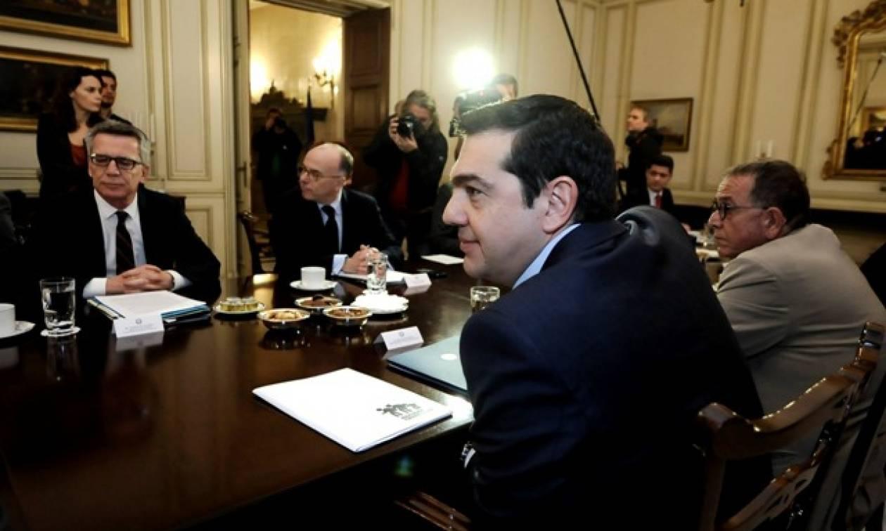 Τσίπρας σε Καζνέφ - Μεζιέ: Η Ελλάδα τηρεί τη συμφωνία πρέπει όλοι να τηρήσουν τις δεσμεύσεις τους