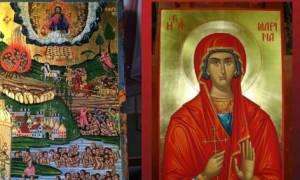 H Λάρισα υποδέχεται τα ιερά λείψανα των Αγ. Τεσσαράκοντα Μαρτύρων και της Αγ. Μαρίνης
