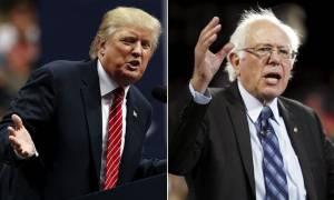 Εκλογές ΗΠΑ: Σάντερς και Τραμπ νικητές των προκριματικών στο Νιού Χάμσαϊρ