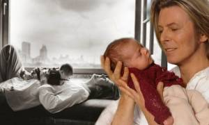 Ο Ντέιβιντ Μπάουι έμαθε πως θα γινόταν παππούς λίγες μόλις ημέρες πριν το θάνατό του (pic)