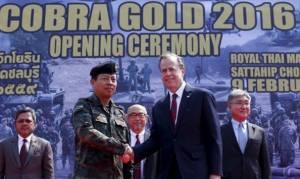 Ξεκίνησε η πολυεθνική στρατιωτική άσκηση «Χρυσή Κόμπρα»