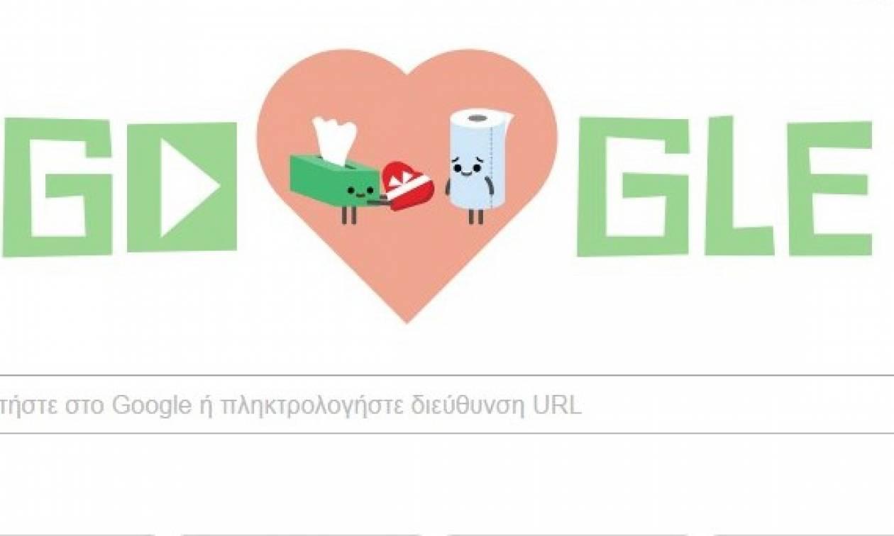 Unique Google Doodle Valentine