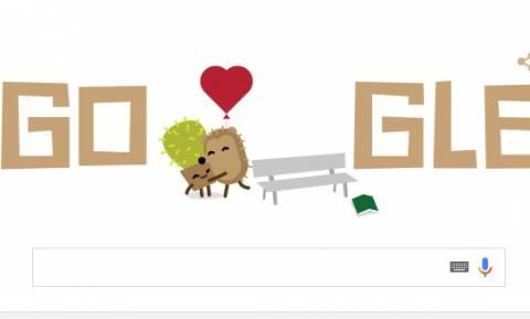 Άγιος Βαλεντίνος 2016: Τρία διαφορετικά Doodle της Google για τον Άγιο των ερωτευμένων