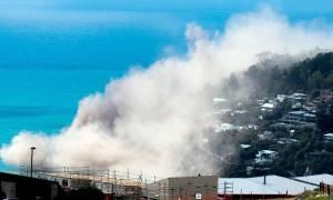 Νέα Ζηλανδία: Εικόνες καταστροφής από σεισμό 5,7 Ρίχτερ (pics+vid)