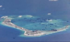 Η Κίνα διαψεύδει την ανάπτυξη πυραυλικών συστημάτων στα τεχνητά νησιά της Νότιας Κινεζικής Θάλασσας