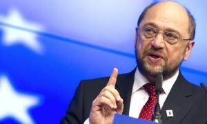Σύνοδος Κορυφής - Σουλτς: Να βοηθήσουμε την Ελλάδα να ελέγξει πιο αποτελεσματικά τα σύνορά της