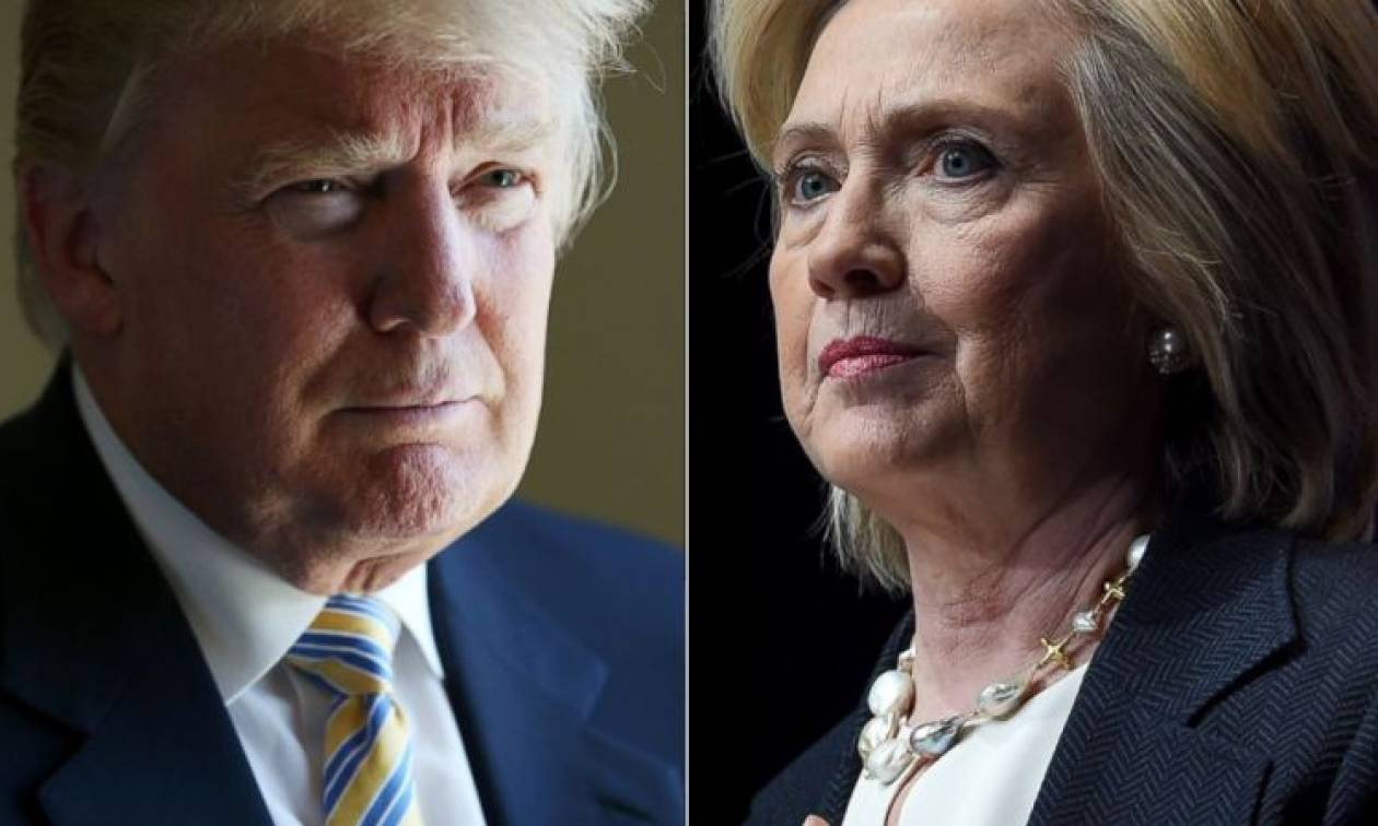 ΗΠΑ: Άνετη νίκη για τον Τραμπ στη Νότια Καρολίνα, η Κλίντον επικράτησε στη Νεβάδα