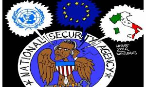 Wikileaks: Η NSA «παρακολουθούσε» Μέρκελ, Μπερλουσκόνι, Νετανιάχου και Μπαν Kι-μουν