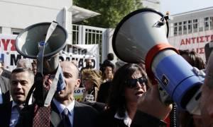 Αποκλεισμός του υπουργείου Δικαιοσύνης από δικηγόρους για το ασφαλιστικό νομοσχέδιο (pics)