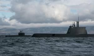 Το νέο υποβρύχιο «ΠΙΠΙΝΟΣ» σε νατοϊκή άσκηση ανατολικά της Σικελίας