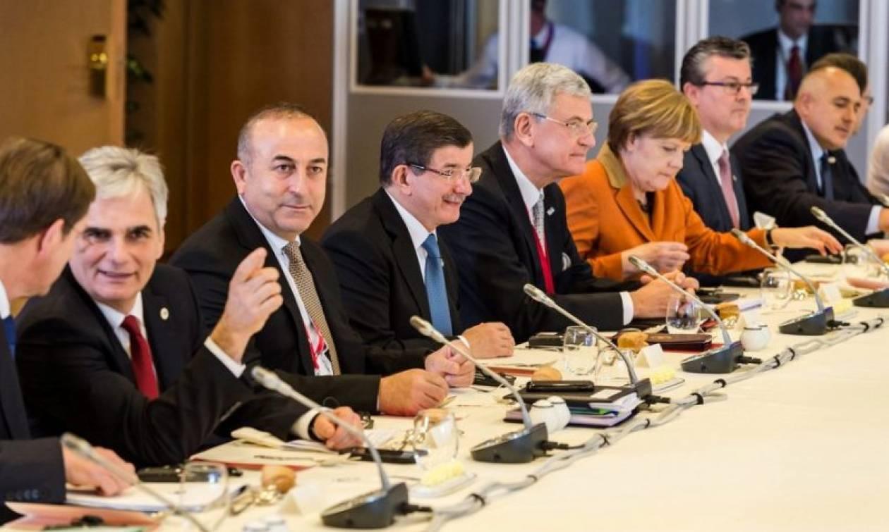 Σύνοδος Κορυφής: Τραβάει στα άκρα το σχοινί ο Νταβούτογλου–Τελευταία στιγμή εκβιάζει με απαιτήσεις