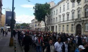 Σλοβακία: Σιωπηλή πορεία σε ένδειξη διαμαρτυρίας για την είσοδο των νεοναζί στη Βουλή